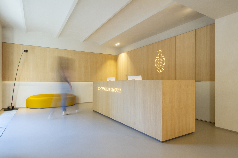 SpazioF Fondazione di Modena - Restauro e allestimento
